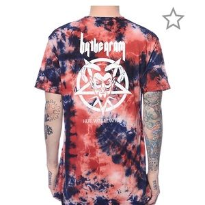 """Ty Dolla Sign x HUF """"By The Gram"""" Blood Wash Shirt"""